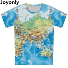 Online World Map by Online Buy Wholesale World Map T Shirt Woman From China World Map