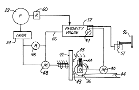 Cat Skid Steer Wiring Diagram Patent Us6293479 Feed Control Hydraulic Circuit For Wood Chipper