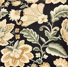 Black Valances Amazon Com Ellis Curtain Valerie Jacobean Floral Print Tailored