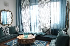 Moroccan Style Curtains Moroccan Inspired Room Shower Curtains With Matching Window