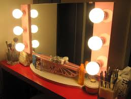 Vanity Makeup Mirrors Vanity Makeup Mirror With Light Bulbs Inspirations Also Top Ideas