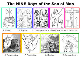 the nine days of the son of man
