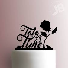 beauty and the beast cake topper 225 241 cake topper