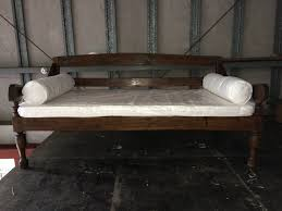 nice large daybed on daybeds furniture large balinese antique