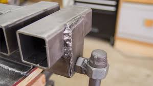 How To Build A Bench Vise Making A Metal Vise From Square Tubing Jays Custom Creations