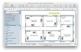 How To Make A Building Plan In Autocad by Network Layout Floor Plans How To Create A Network Layout Floor