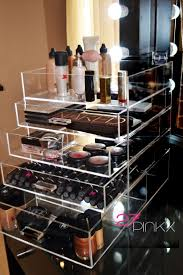 Makeup Vanity For Teens Makeup Storage White Polished Wooden Bedroom Vanity With Make Up