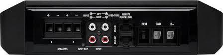 rockford fosgate punch p300x1 mono amplifier u2014 300 watts rms x 1