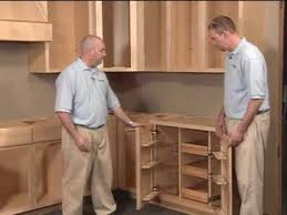 Installing Floor Cabinets Base Cabinet Aristokraft Cabinet Installation Youtube