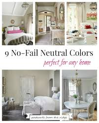 benjamin moore 2017 color trends and color of the year postcards