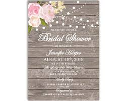 cheap bridal shower invitations bridal shower invite etsy