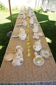 tea party table tea party table setting last summer my and flickr