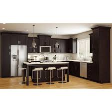 blind corner kitchen cabinet home depot franklin assembled 42x34 5x24 in plywood shaker blind corner base kitchen cabinet right soft in stained manganite
