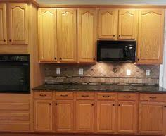 general finishes brown mahogany gel stain regular oak cabinets