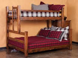 Bunk Beds Tahoe Furniture Company - Queen bed with bunk over
