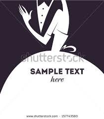 groom to card groom wedding card style stock vector 157743560