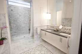 Marble Tile Bathroom Floor Old World Carrera Bathroom Tile Design Google Search Bathrooms
