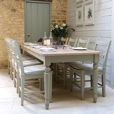 Modern Country Style Farrow Y La Bola De Sombra Blanca Con Farrow - Country style kitchen tables