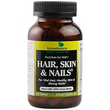 hair skin and nails for men 135 tablets by futurebiotics at the