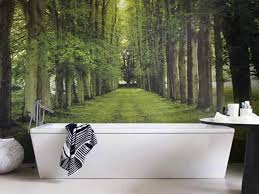 bathroom wallpaper ideas modern bathroom design and decorating with wallpaper