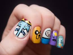 best adventure time nail art photos 2017 u2013 blue maize