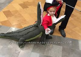 Awesome Costumes Costume Idea Captain Hook Getting Eaten By Tick Tock Crocodile