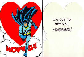 batman valentines card batman wishes you a happy valentines graphic policy