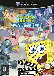 nickelodeon spongebob squarepants lights camera pants usa rom