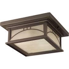 outdoor flush mount wall light progress lighting residence collection 2 light antique bronze
