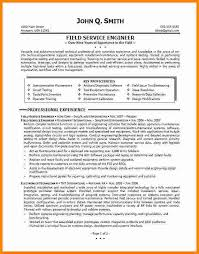 Field Service Engineer Resume Sample by 12 It Engineer Resume Sample Ledger Paper