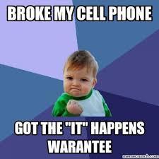 Broken Phone Meme - my cell phone