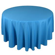 turquoise 70 inch polyester tablecloths