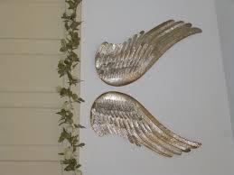 Wings Wall Decor Wall Hung Angel Wings Aj U0027s Trash2treasure Blog