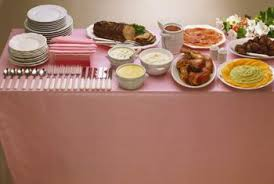 proper table arrangements for serving a buffet home guides sf gate