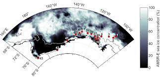 sea ice algal biomass and physiology in the amundsen sea antarctica