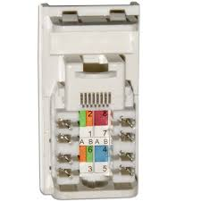 data cat5e rj45 wall grid outlet module click new media wiring