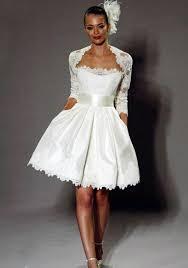 vintage lace short wedding dress sang maestro