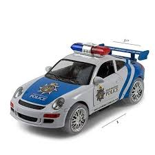 remote control police car with lights and siren kidsthrill justice team police car kids bump and go action toy car