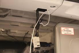 installing a rear view camera u0026 monitor nissan nv200 forum