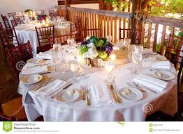 Fine Dining Table Set Up by Fine Dining Table Setting Table Set For Fine Dining Royalty Free