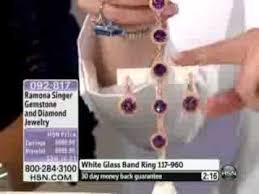 ramona singer earrings ramona singer gemstone and diamond sterling silver hugger earrings