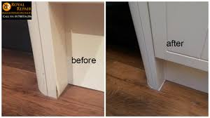 Fix Laminate Floor Water Damage Water Damaged Kitchen Unit Repair Royal Repair
