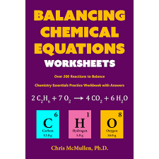 balancing chemical equations worksheets over 200 reactions to