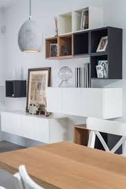 Desk Shelf Combo by 45 Ways To Use Ikea Besta Units In Home Décor Digsdigs