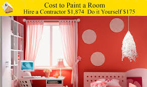 room simple estimated cost to paint a room inspirational home