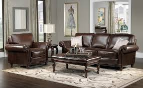 color schemes for living rooms with brown leather furniture and