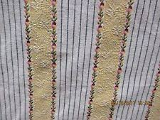 Drapery Fabric Characteristics By The Yard Striped Drapery Craft Fabrics Ebay