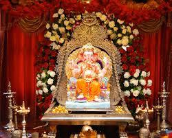 temple decoration ideas for home ganpati decoration ideas for home the royale