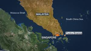 South China Sea Map by Malaysia Singapore In South China Sea Stoush Sbs News