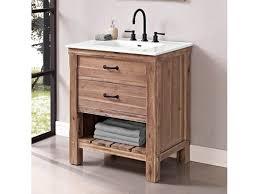 fairmont designs bathroom vanities fairmont designs bathroom 30 inches open shelf vanity 1507 vh30